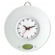 Кухненска везна с кварцов часовник - 60.3002