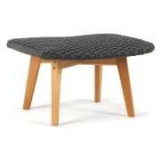 Ethimo Knit footstool pall