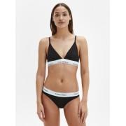 Calvin Klein crne gaćice s bijelim širokim gumenim prorezima za bikini