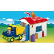 1.2.3 CAMION CU GARAJ Playmobil