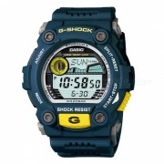 reloj digital casio G-7900-2 g-shock digital-azul + amarillo