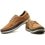 Clarks Orson Lace Men Genuine Leather Boat Shoes For Men(Tan)