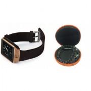 Mirza DZ09 Smart Watch and Katori Earphone for LG OPTIMUS L5 II DUAL(DZ09 Smart Watch With 4G Sim Card Memory Card| Katori Earphone)