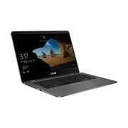 "Asus ZenBook Flip 14 UX461UN-E1030R 35.6 cm (14"") Touchscreen LCD Notebook - Intel Core i7 (8th Gen) i7-8550U Quad-core (4 Core) 1.80 GHz - 16 GB LPDDR3 - 512 GB SSD - Windows 10 Pro - 1920 x 1080 - Tru2Life, TruVivid Technology - Convertible - Slate Grey"
