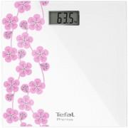 Cantar de baie Tefal Premiss PP1078V0, 150 kg, 28 x 28 cm (Alb/Roz)