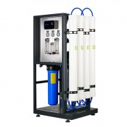 """Osmoza inversa comerciala, FILTRO RO 1000L, controler, 4 membrane 40"""", prefiltrare si pompa inclusa"""