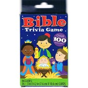 Bible Trivia Card Game