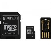 Kingston microSDHC + SDHC 16GB (Class 10)