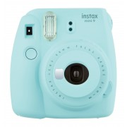 Focus Fujifilm Instax Mini 9 Kamera - Ice Blue