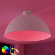 LED ceiling light Bowl WiFi 51cm white
