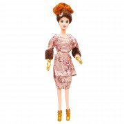 Papusa Mini Sweet Fashion girl cu accesorii, Russian Style, Classic Collection, 30cm, cu costum bluza+fusta