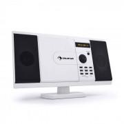 Auna MCD-82 Cadena estéreo Reproductor de DVD USB SD blanca