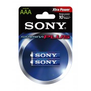 Sony Stamina Plus LR03-mikroelem 2 db