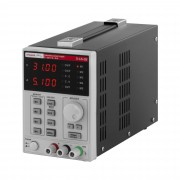 Bench power supply - 0-30 V, 0-10 A DC, 550 W - 4 memory spaces