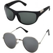 Younky.com Aviator Sunglasses(Clear)