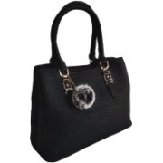 SR DiSoo Fashions' Formal Party & Business Wear Grey Colour Handbag Cum Sling Bag || Comes with a Fur Tusell and belt (Grey) Black Messenger Bag