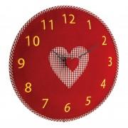 Стенен часовник от филц, сърце - 60.3025.05