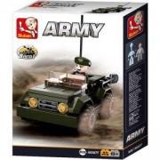 Конструктор Армия 8 в 1 - Джип - B0587F Sluban, F693824295377