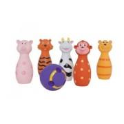 Set popice soft pentru bebe cu animalute chitaitoare 15 cm Ludi