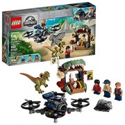Lego Jurassic World 75934 Escape del Dilofosaurio, Building Kit 168 Elementos