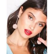NLY Accessories Pompom Earrings Örhängen