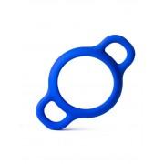 RudeRider Handle Silicone Cock Ring Blue