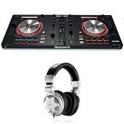Numark Mixtrack Pro 3   USB DJ Controller with Trigger Pads with Behringer HPX2000 Headphones