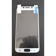 Удароустойчив протектор за Samsung G925 Galaxy S6 Edge Бял