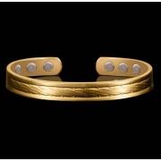 Phy Bracelet magnétique en cuivre avec aimants - modèle Orfèvre
