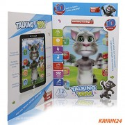 Krireen 3D Talking Tom Interactive Learning Tablet - Blue