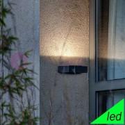 Faro Taima Lampada A Parete Led Da Esterno Fascio Orientabile Ip54