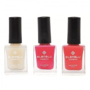 Elenblu White Water Top Top Coats Nail Polish Set of 2 Matte Nail Polish Mauve Taupe California Coral 9.9ml Each Bundle Offer
