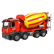 Bruder Toys Mb Arocs Cement Mixer Toy Truck (Multicolour, 3654)