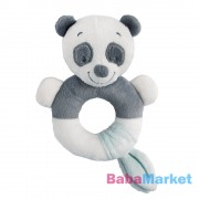 Nattou plüss marokcsörgő Loulou Lea and Hyppolite Loulou a panda