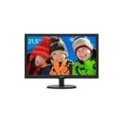 Monitor para PC Full HD Philips LED Widescreen - 21,5 V5 223V5LHSB2