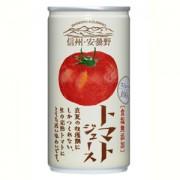 《ハロートーク》 〈ゴールドパック〉信州・安曇野トマトジュース(食塩無添加・ストレート) 190g×30缶