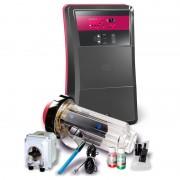 Clorador salino CTX Go Salt - 12 g Cl/h - 50 m³ - Con bomba pH