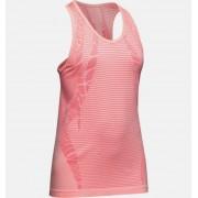 Under Armour Girls' UA Seamless Tank Pink YSM