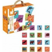 Jucarie educativa Janod Memo - Animals World