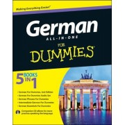 German All-In-One for Dummies [With CD (Audio)], Paperback