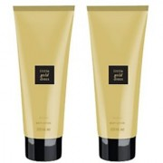 Avon Little Gold Dress Skin Softener (set of 2 of