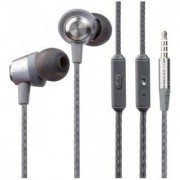 Queer Y9 Metal Stereo In Ear Wired Earphones With Mic Dynamic Earphone superior design Earphones The unbeatable sound