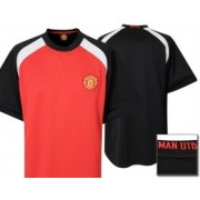 Manchester United Core Poly Panel T-shirt - Red