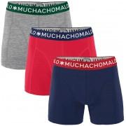 Muchachomalo Boxershorts 3er-Pack 281 - Grau M
