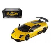 StarSun Depot Hot wheels Lamborghini Murcielago LP 670-4 SV Yellow Elite Edition 1/43 by Hortwheels