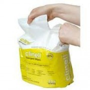 Clinell Detergent Wipes 225 Wipes Refill for bucket