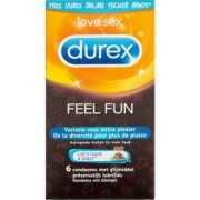 Durex Emoji Feel Fun - 6 pièces