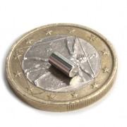Magnet neodim cilindru, diametru 3 mm, putere 350 g