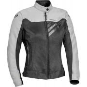 Ixon Orion Ladies Motorcycle Textile Jacket Black Grey XS