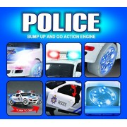 Bump & Go Action Police Car! Real Sirens & Flashing Lights makes this Best Birthday Gift! Hours of Fun Boys Pretend...